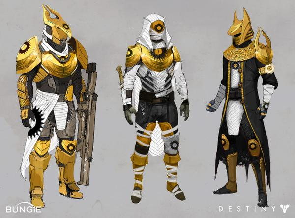 The Trails Of Osiris Armour Types