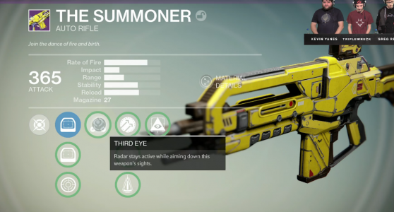 The Summoner Auto Rifle