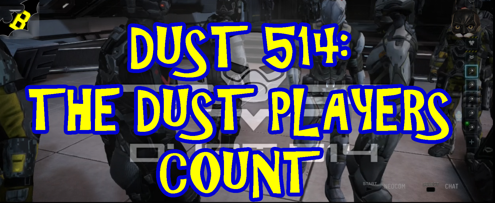 DUST514 – The Players Count