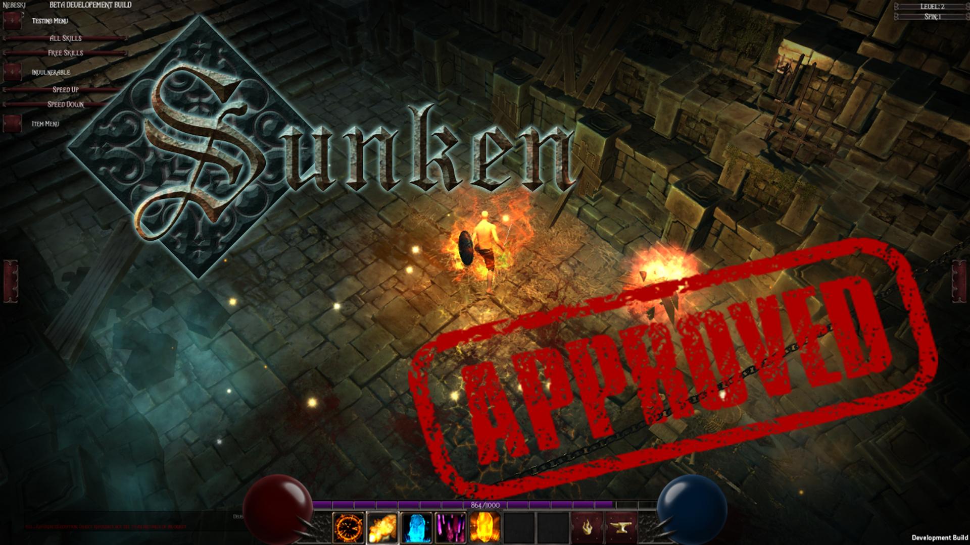 Sunken Preview
