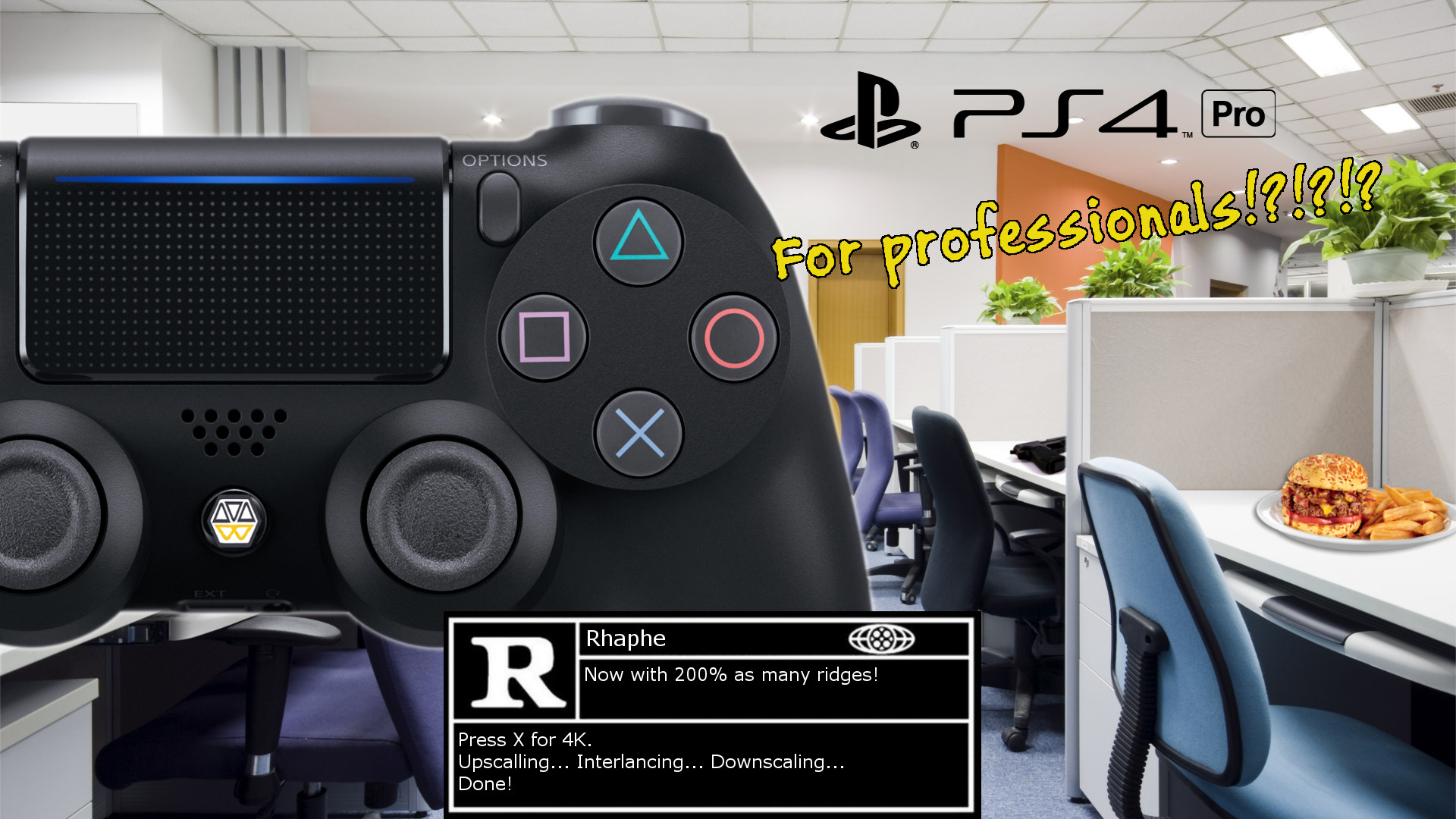 Rated-R – Work That Playstation, Pro! (045)