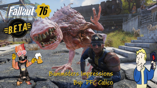 Fallout 76 B.E.T.A  R.E.A.C.T.I.O.N.S