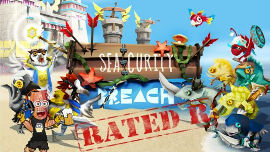 Rated-R – It's A Seacurity Breach! (150)