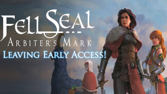 Fell Seal: Arbiter's Mark, Huge Update Tomorrow, Sale Ending, and Leaving Early Access